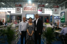 Alumna Junwen Deng from HarperCollins in Beijing