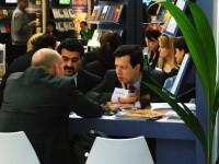 Photograph of the Frankfurt Book Fair by MA student Nuala O'Reilly