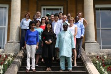Delegates and staff together at the end of the successful Summer School