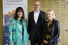 Gail Rebuck, Nigel Newton and Mariella Frostrup