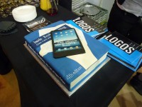 Cake to celebrate the 4th edition of 'Inside Book Publishing', Giles Clark and Angus Phillips