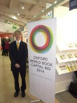 Angus Phillips promoting Oxford's bid to become World Book Capital in 2014