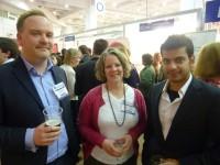 Ian Campsall, Jane Potter and Ankit Vij