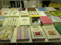 Cookery Books at the the Phaedon Stand