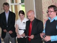 Angus Phillips, Aileen Storry, Giles Clark and Philip Jones