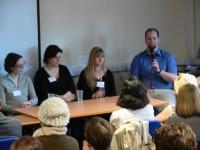 Alumni Panel - Jonathan Davis speaking