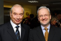 Professor Alexander Maximovich Tsyganenko and Professor John Raftery