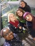 Selfie at Frankfurt, photo by Saidah Graham