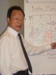 President, Mr. Zhang Bangkai imitates Lambie teaching style