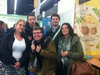 Undergraduates at the Fair