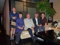 With alumni in Beijing