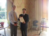 Director of OCIPS, Angus Phillips and Director of Sicuhan Publishing Group, Mr. Zhang Bangkai at Hea