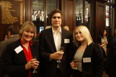 Stationers' Foundation in 2010 - Beverley Tarquini, Daniel Parker and Abigail Pukaniuk
