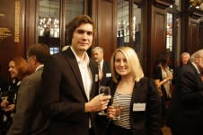 Stationers' Foundation in 2010 - Daniel Parker and Abigail Pukaniuk