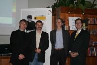 Angus Phillips Visits the Slovenian Bookfair 2007