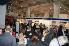 Celebrations at the OICPS stand